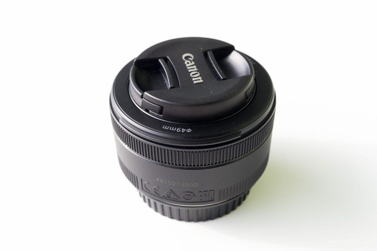 Canon EF 15mm 1.8 STM объектив с крышкой